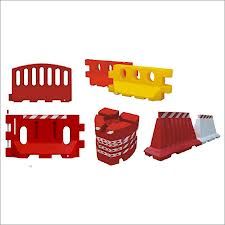 plastic barriers/barricades for road traffic control and safety